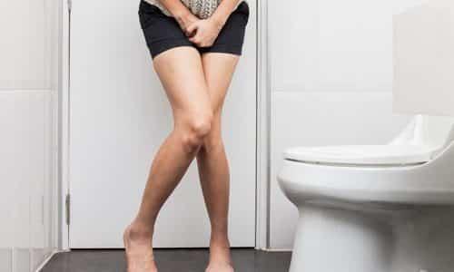При развитии заболевания у пациента появляется боль во время мочеиспускания