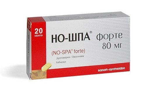 Устранить спазмы и боль поможет препарат Но-Шпа