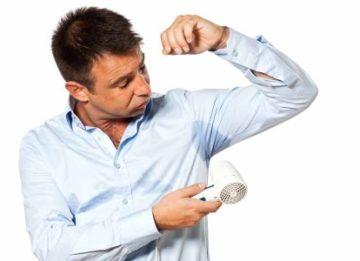 Эффективное лечение гипергидроза подмышек в домашних условиях