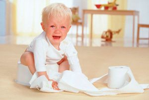 Особенности запора у ребенка